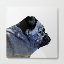 Thinking of Mountains Metal Print