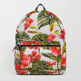 Nasturtiums watercolor Backpack