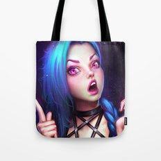 Jinx 2 Tote Bag