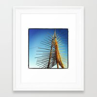 coachella Framed Art Prints featuring Coachella by Wolf Feather