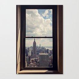 Empire State Building Views, New York City Canvas Print