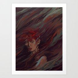 baekhyun Art Print