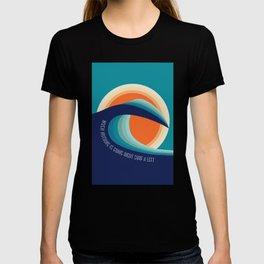 Surf a left T-shirt