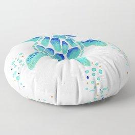 Neptune's Turtle Floor Pillow