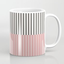 Color Block Lines XIV Coffee Mug