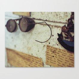 Junkyard Finds Canvas Print