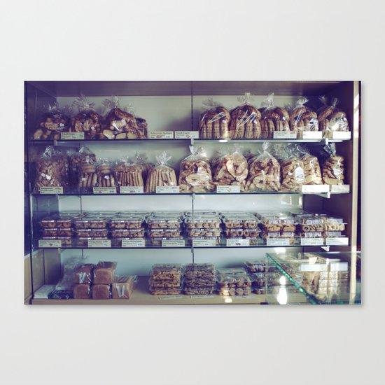 Greek Bakery Canvas Print