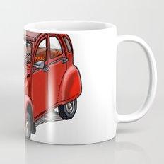 Red 2cv Coffee Mug