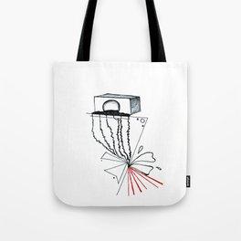 Sound vibrance Tote Bag