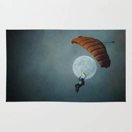 Skydiver's Moon Rug