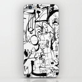 Inside the Mind - b&w iPhone Skin