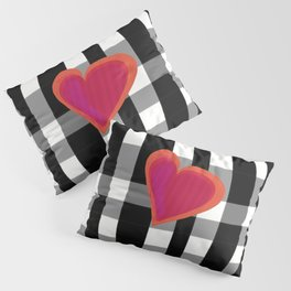 HERE IS MY HEART Pillow Sham