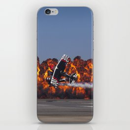 Flight and Flame iPhone Skin