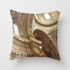 pray for love Throw Pillow