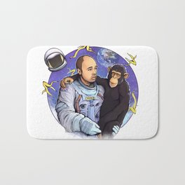 Karl Pilkington - An Idio In Space Bath Mat