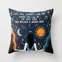 Do the most good Throw Pillow