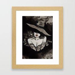 Witchcraft's Smile Framed Art Print