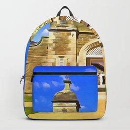 Antrim Castle, Ireland. (Painting) Backpack
