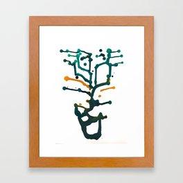Ink Study 2 Framed Art Print
