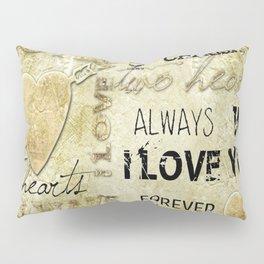Arrow in the heart Pillow Sham