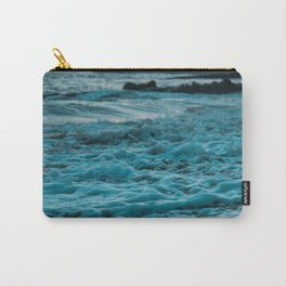 Wavy Waters In California In The Summer Carry-All Pouch