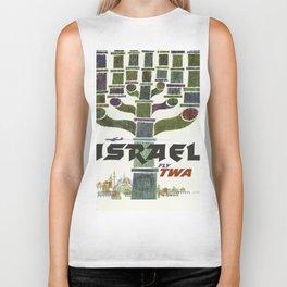 Vintage poster - Israel Biker Tank