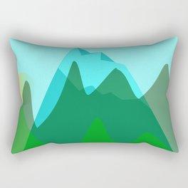 Alpine landscape Rectangular Pillow