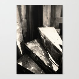 The Very End Canvas Print