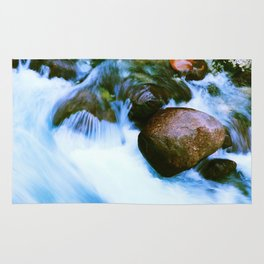 Water of the torrent Rug
