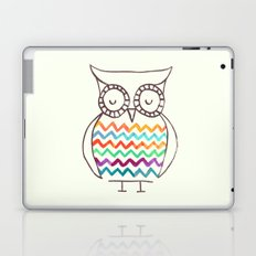 Chevron Owl Laptop & iPad Skin