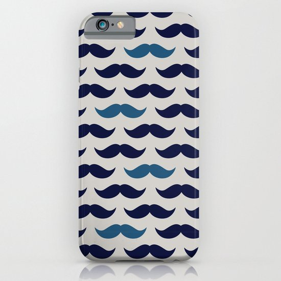 MUSTACHE PATTERN iPhone & iPod Case