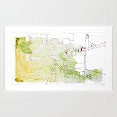 Stavanger Art Print