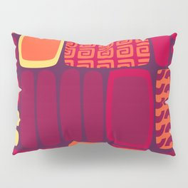 Quilted Flame Pillow Sham