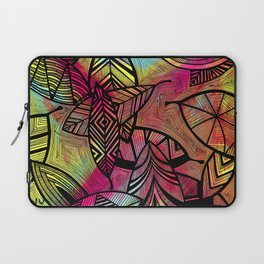 Crazy Leaves  Laptop Sleeve