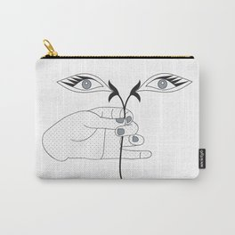 Saint Lucy's Eyes Carry-All Pouch