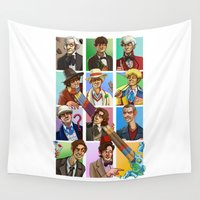 doctor who Wall Tapestries featuring Doctor Who? by threehares