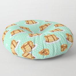 Pancakes & Dots Pattern Floor Pillow