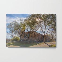 St.Martin's Church, Huff, North Dakota 1 Metal Print