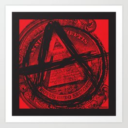 The Great (Anarchy) Seal Art Print