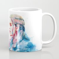 shipping Mugs featuring Dragonqueen by Alice X. Zhang