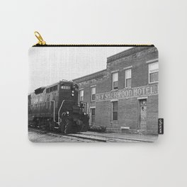 Train and Sherwood Hotel Carry-All Pouch