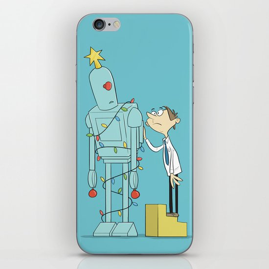 Robot Tree iPhone & iPod Skin