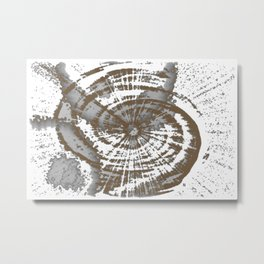The Spiral Metal Print