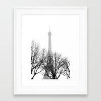 eiffel Framed Art Prints featuring eiffel by FERNANDAЯAMOS