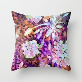 Another Shade of Vibrant Florida Color From My Florida Garden Throw Pillow