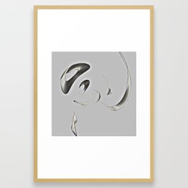 Broken/Glass Framed Art Print