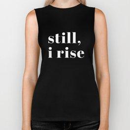 still I rise XV Biker Tank