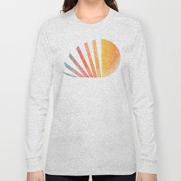 Raising sun (rainbow-ed) Long Sleeve T-shirt