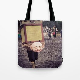 The weight of Glasto Tote Bag