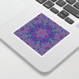Oil Spill to Flower Sticker